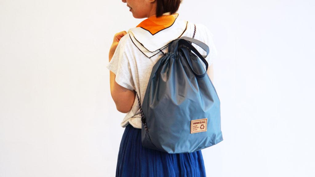 wwwbagの3way ecobagのモデル画像